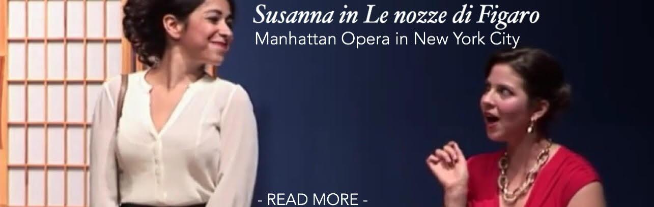 Lisa Algozzini: Susanna, Le nozze di Figaro