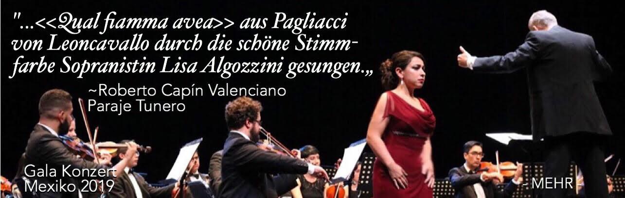 Lisa Algozzini - Aria von Nedda - Gala Konzert