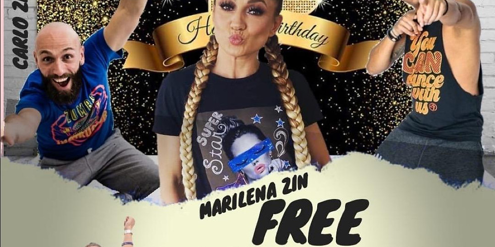 Mary's Birthday ZUMBA Free Class