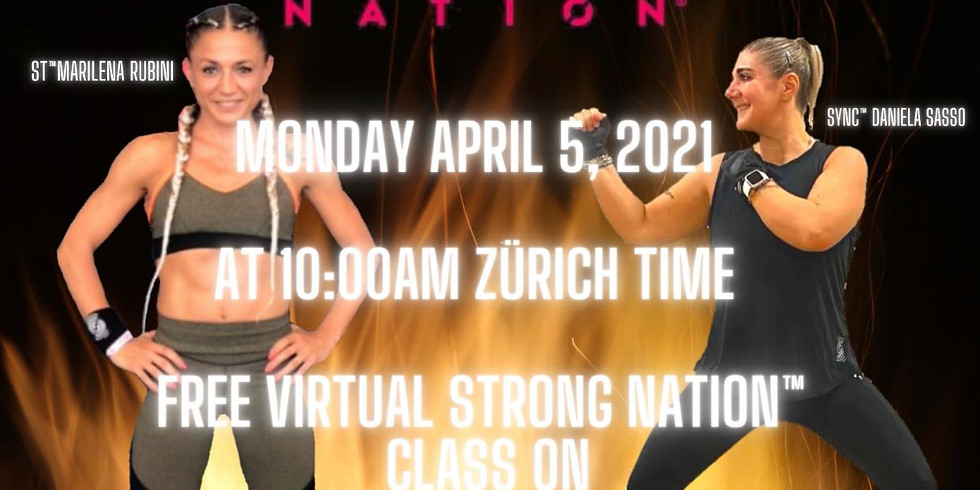 FREE Virtual CLASS STRONG NATION(™) 45min.