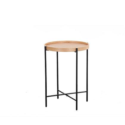 שולחן צד ג'יימס שחור