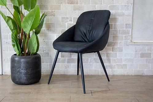 כסא / כורסא בולוניה שחור