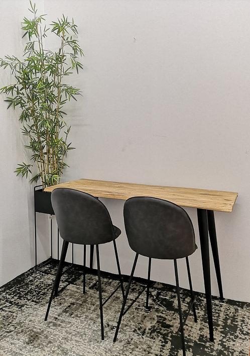 שולחן בר מלבני אייפל