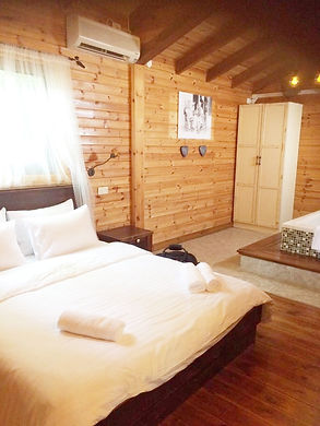 בקתות טלמה , חדר שינה
