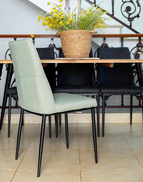 כסא שחר ירוק פיסטוק