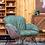 "Thumbnail: כורסא ""טולוז"" - ירוק בקבוק"