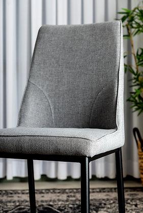 כסא שחר אפור בהיר