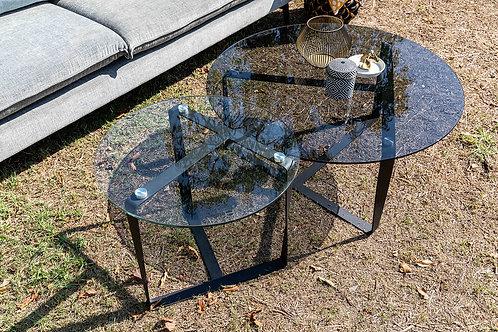 """שולחן סלון """"ים"""" שחור"""
