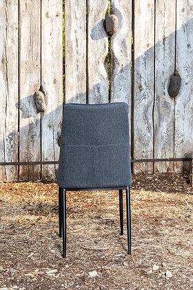 כסא שחר אפור כהה