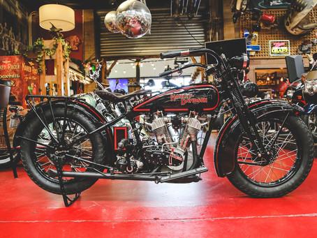 1929 Harley Davidson J Model