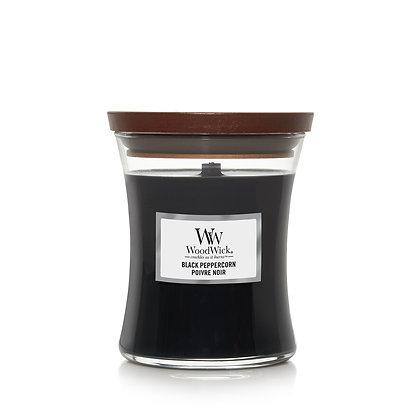 YANKEE CANDLE / WOODWICK - Moyenne jarre Poivre Noir