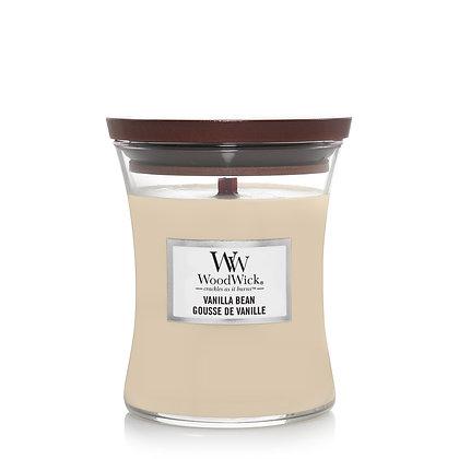 YANKEE CANDLE / WOODWICK - Moyenne jarre Gousse de vanille