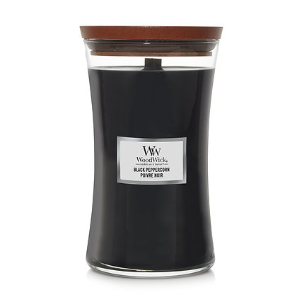 YANKEE CANDLE / WOODWICK - Grande jarre Poivre Noir