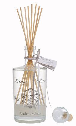 AMELIE ET MELANIE -Bâtons à parfum LINGE BLANC