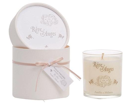 BOUGIE Parfumée RÊVE D'ANGE d'AMELIE ET MELANIE