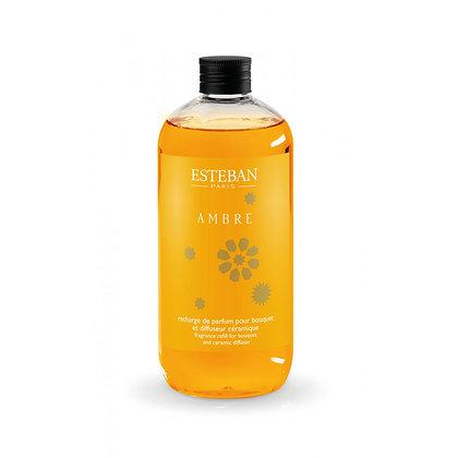 AMBRE Recharge de parfum pour bouquet 500ml