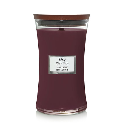 YANKEE CANDLE / WOODWICK - Grande jarre Cerise Griotte