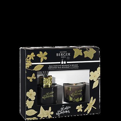 Duo mini Bouquet & Bougie Lolita Lempicka Black Edition