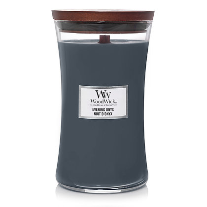 YANKEE CANDLE / WOODWICK - Grande jarre Nuit d'onyx