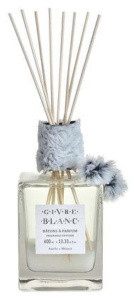 AMELIE ET MELANIE - Bâtons à parfum GIVRE BLANC