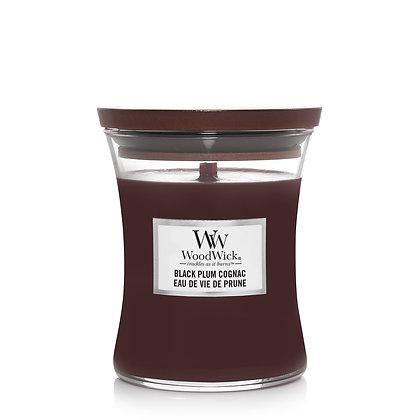 YANKEE CANDLE / WOODWICK - Moyenne jarre Eau de vie de Prune
