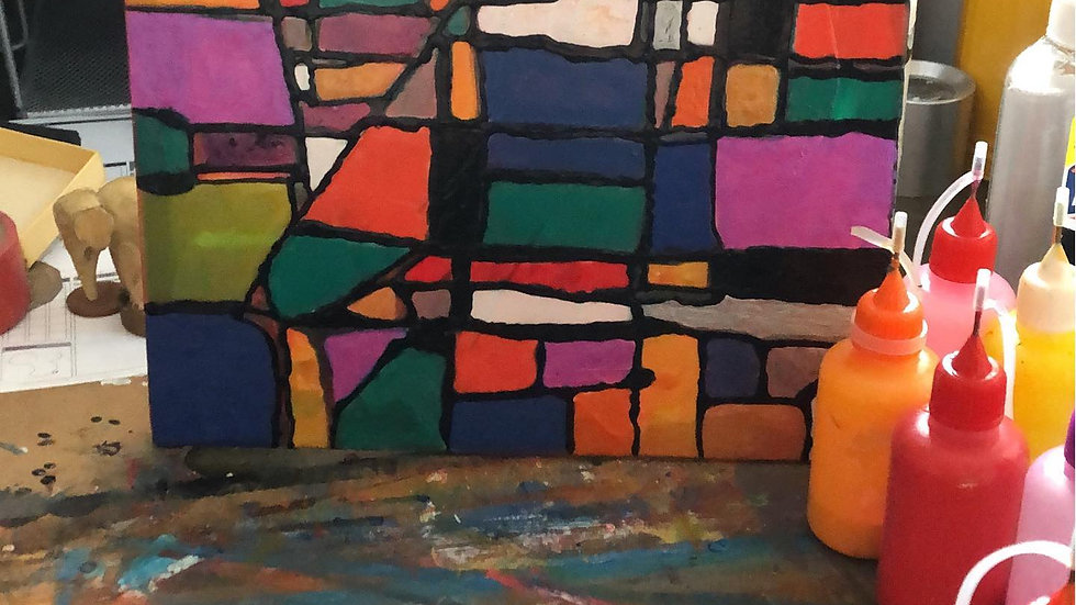 Stained Glass Acrylic