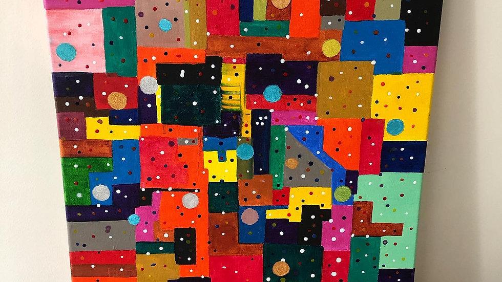 Abstract Squares & Circles