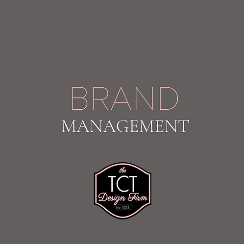 BRAND MANAGEMENT (MONTHLY)