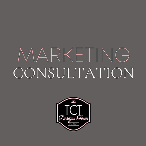 MARKETING CONSULTATION (1 HOUR)