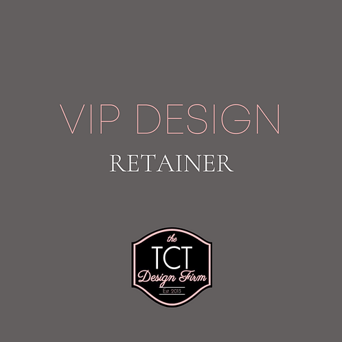 VIP Design Retainer (Monthly)
