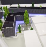 3D Printed & Laser Cut Architecture Model