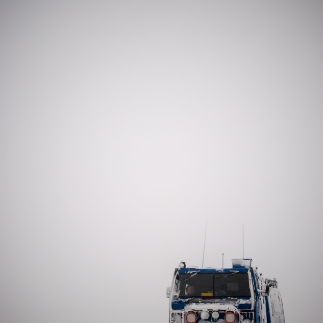 Snowy Iceland