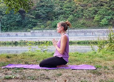 Meditation Fersensitz