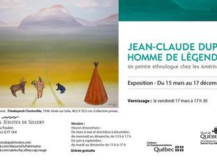 Exposition «Jean-Claude Dupont: homme de légendes»