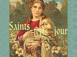 Parution du livre «Saints et fêtes du jour au Canada français» de Jeanne Pomerleau