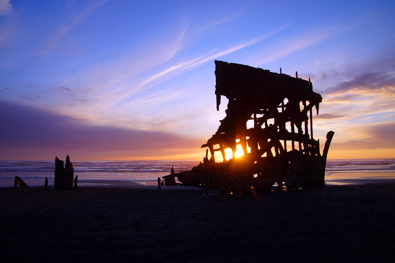 Peter Iredale Sunset | Fort Stevens
