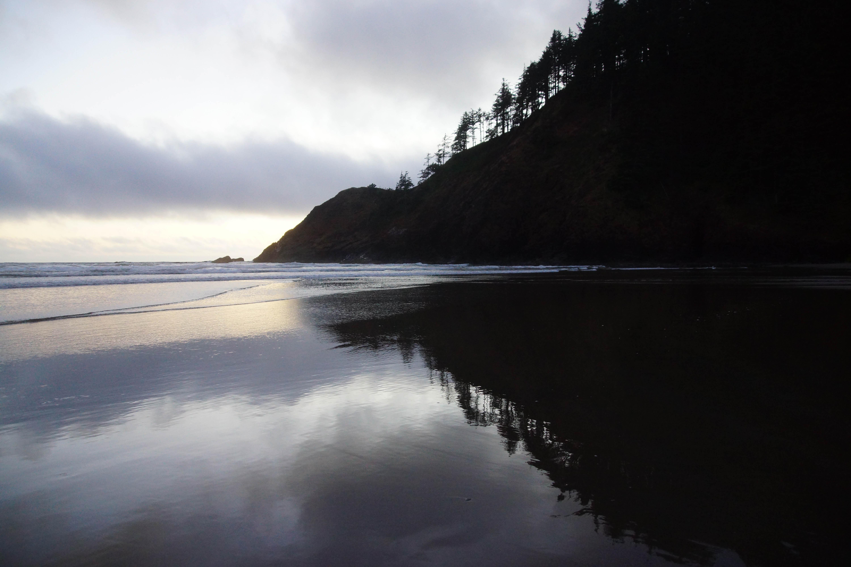 Indian Beach Reflection | Oregon