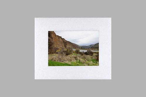 20 x 24 Matted Print - Cottonwood Canyon Landscape