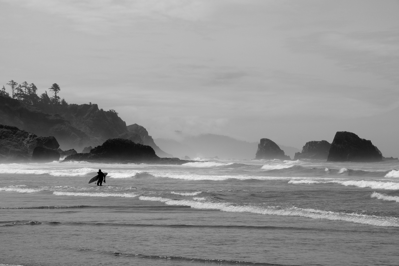 Indian Beach Surfer | Oregon