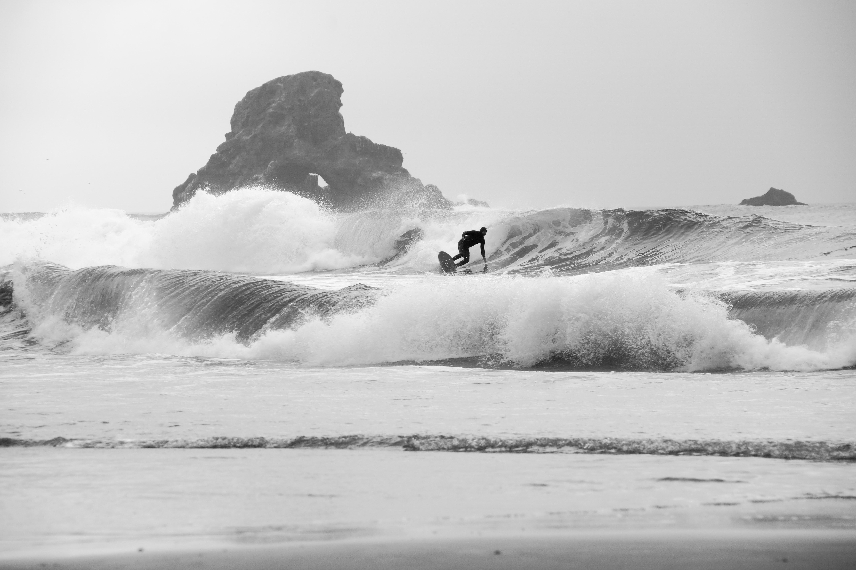 Surfer | Indian Beach, Oregon