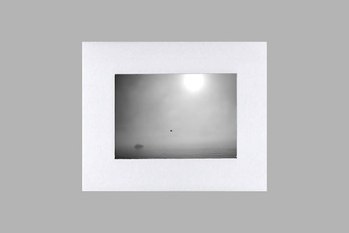20 x 24 Matted Print - The Lonely Wayfarer