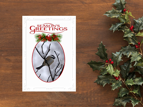 Holiday Card - Blank Inside (Set of 5)