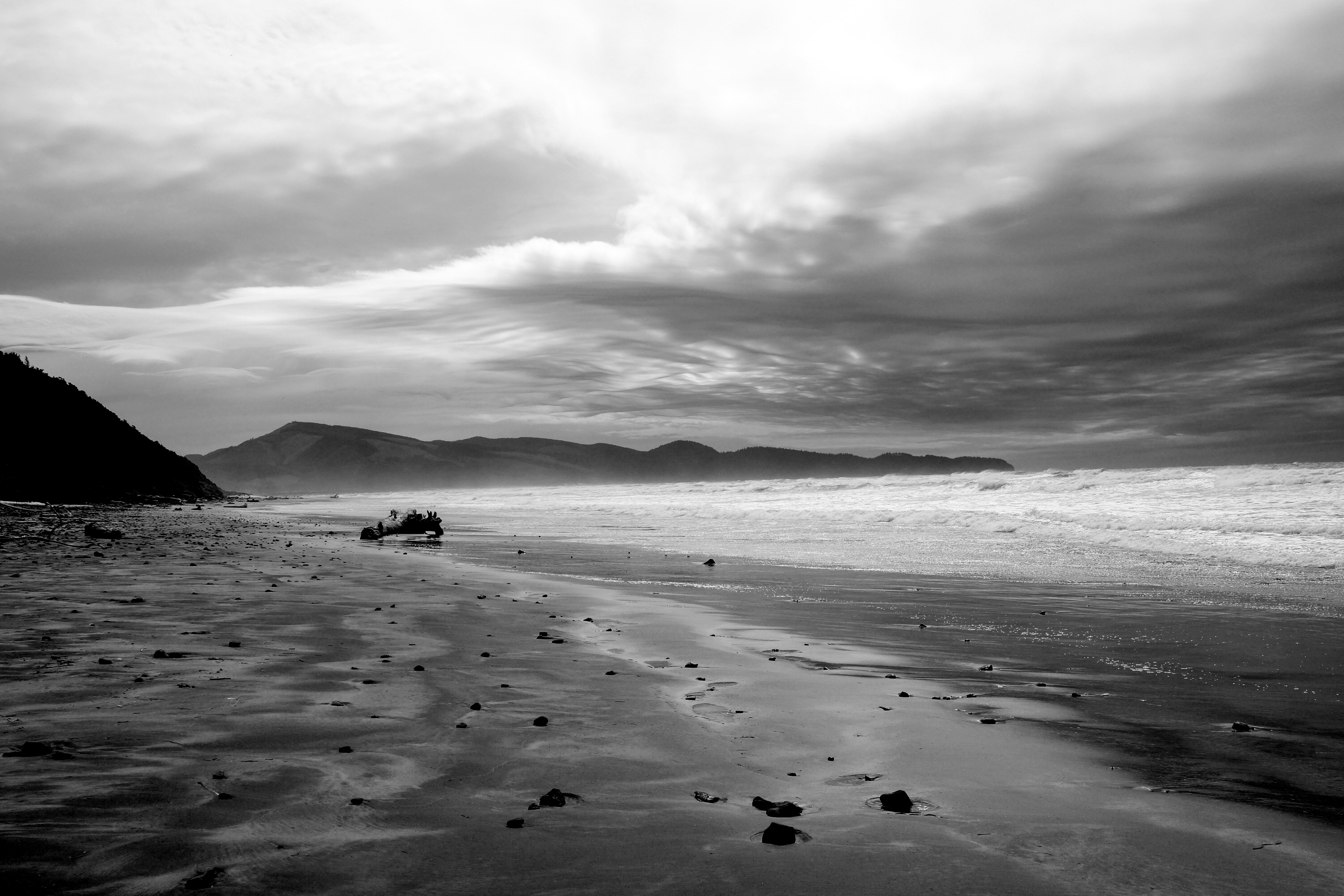 A Storm Approaches | Oceanside, OR