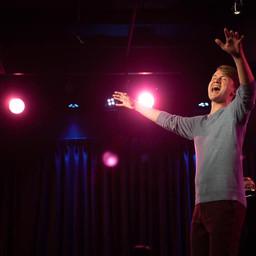 Brett Klock at the Green Room 42 in NYC