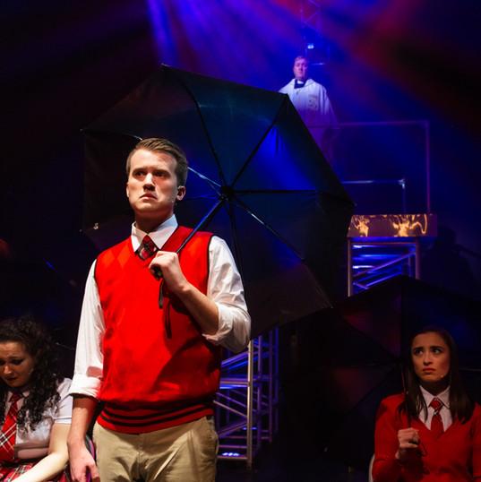 """Brett Klock as Peter in """"Bare: A Pop Opera"""""""