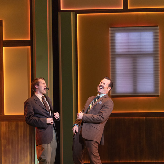 "Brett Klock as Bob Enright in ""9 to 5 The Musical"""