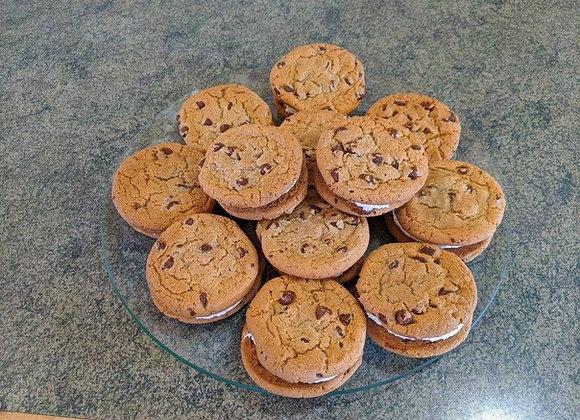 Chocolate Chip Cookie Whoopie Pie (One Dozen)