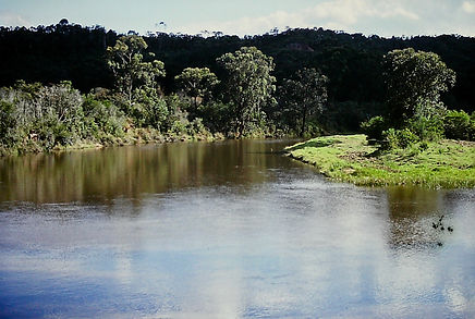 Madagascar 19a, river upstream in Ranoma