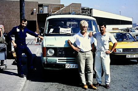 Hugh Miles 01a, & drivers, Istanbul, Tur