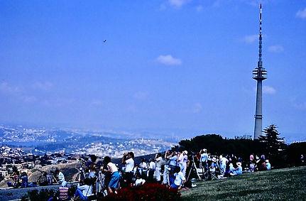 Turkey 06a, Big Camlica & birdwatchers,